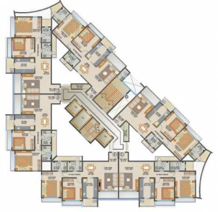 spring-grove Tower 1 Cluster Plan