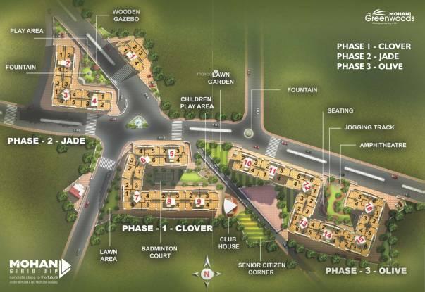Mohan Greenwoods Site Plan