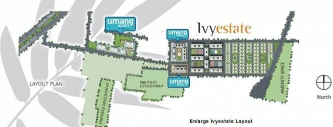 ivy-estate Images for Site Plan of Kolte Patil IVY Estate
