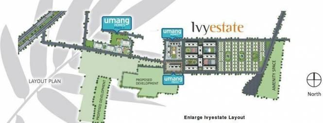 Kolte Patil IVY Estate Site Plan