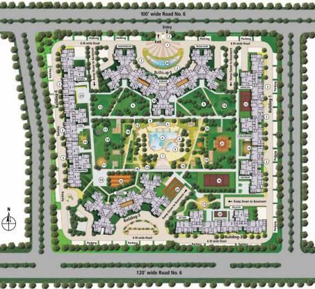 Shipra Srishti Site Plan