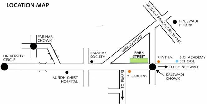 Pride Purple Diamond Park Location Plan