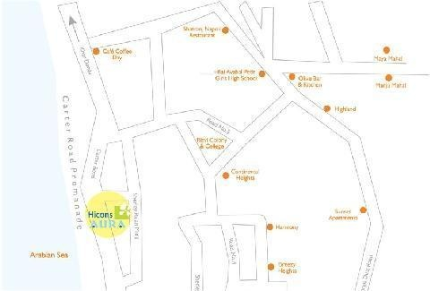 Hicons Aura Location Plan