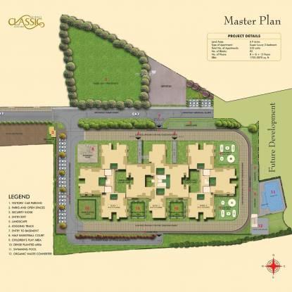 Sobha Classic Master Plan