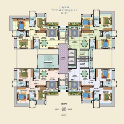 Veena Saaz Cluster Plan