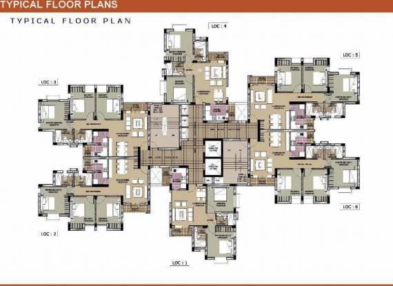 Unitech Vistas Cluster Plan