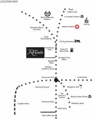 Century Renata Location Plan