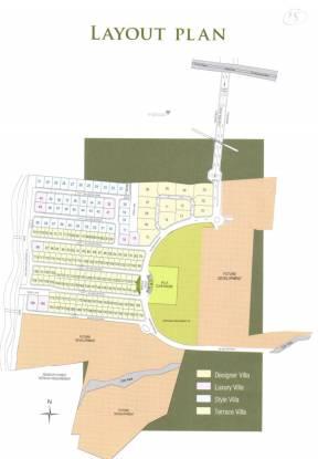 Arihant Villa Viviana Layout Plan