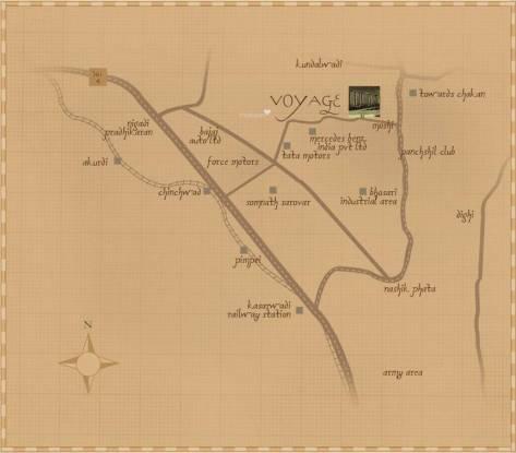 Kasturi Voyage Location Plan
