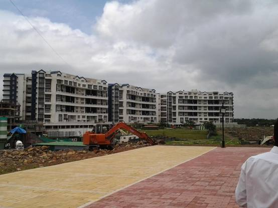 Geras Greens Ville Sky Villas Construction Status