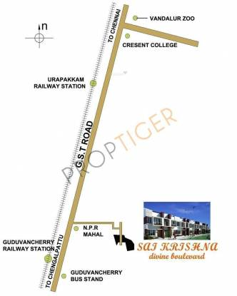 M2 Sai Krishna Location Plan