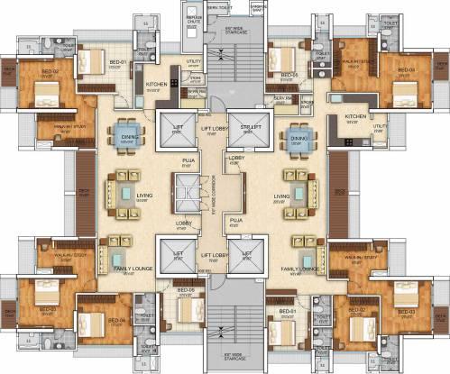 Bau IBIS Cluster Plan