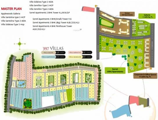 Images for Master Plan of Applewoods Sorrel