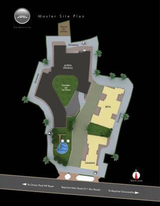 Siddha Xanadu Condominium Site Plan