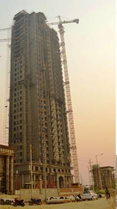 Sunworld Arista Construction Status