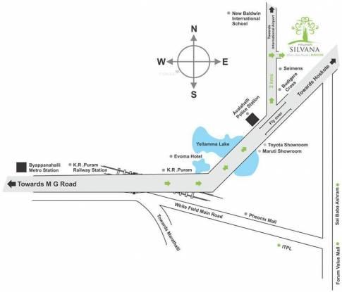 Pruksa Silvana Location Plan
