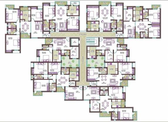 Vasavi Majestica Cluster Plan