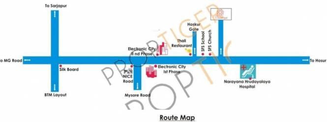 Daadys Daaliya Location Plan