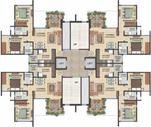 Amit Colori Cluster Plan