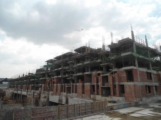 Habitat Crest Construction Status