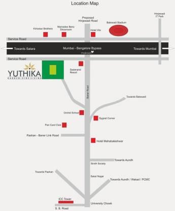 Paranjape Yuthika Location Plan