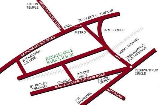 Renaissance Park III Location Plan