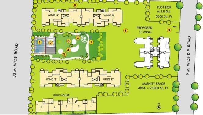 Bhandari Parkland Layout Plan