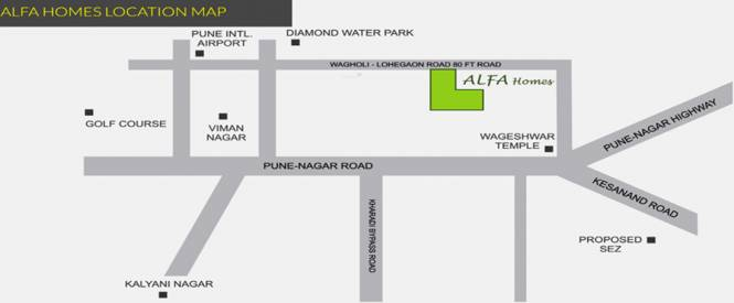 ARK Alfa Homes Location Plan