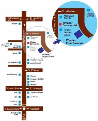 Windsor Four Seasons Location Plan