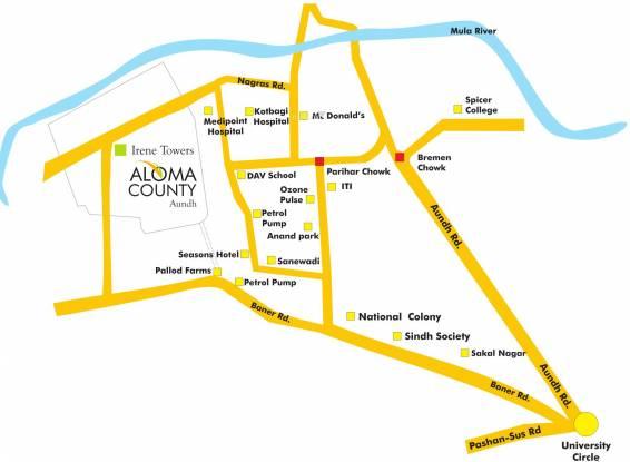 Pride Aloma County Location Plan