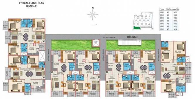 Nirman Meadows Cluster Plan