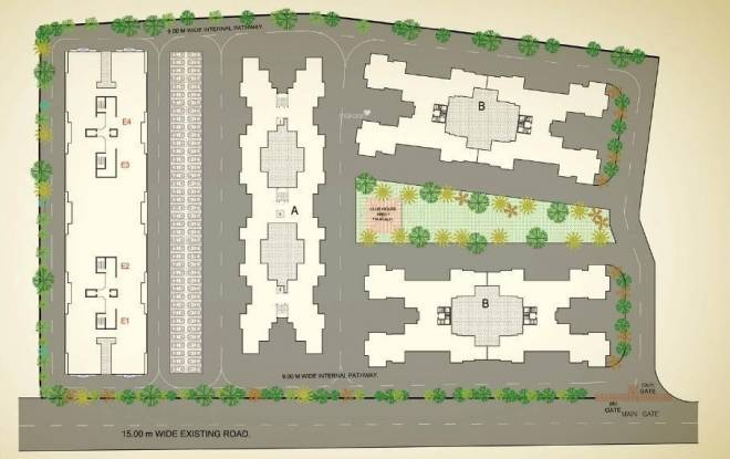 Kolte Patil Cilantro Layout Plan