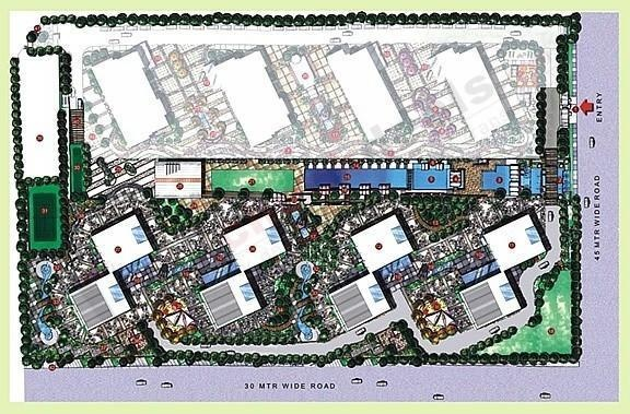bellezza Images for Master Plan of Lodha Bellezza