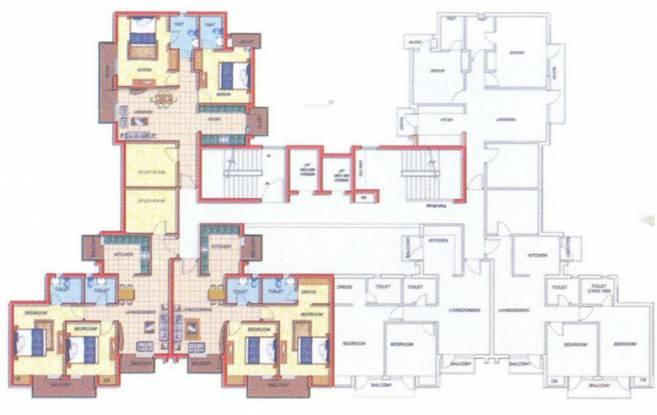 Omaxe Residency Cluster Plan