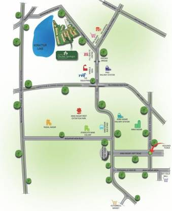Alliance Orchid Springs Location Plan