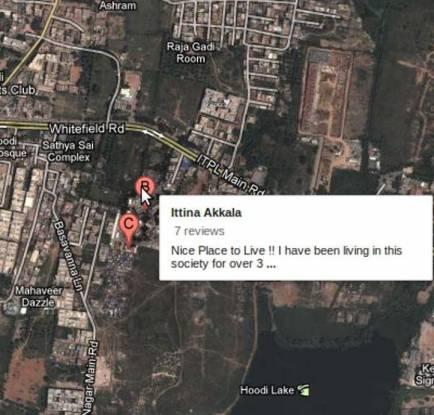 Ittina Akkala Apartments Location Plan