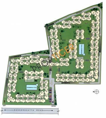 Mantri Mantri Residency Master Plan