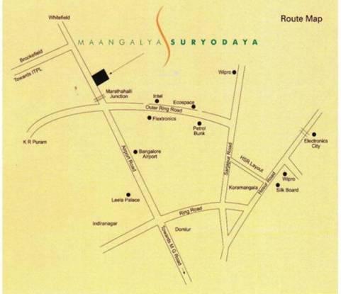 suryodaya Images for Location Plan of Maangalya Suryodaya