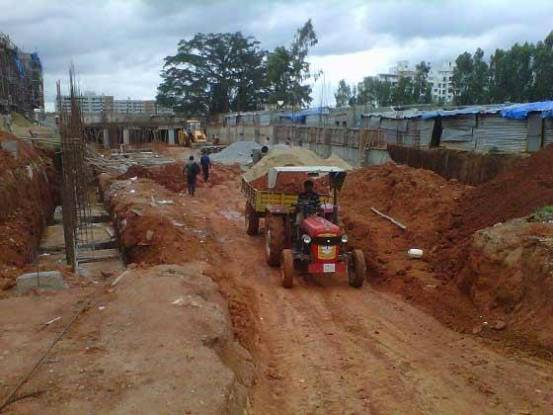 Aashish Rajni Ashish Rose Construction Status