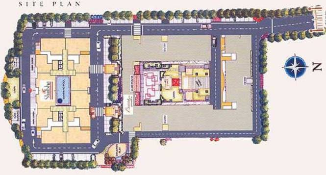 Images for Site Plan of Kolte Patil Shubha