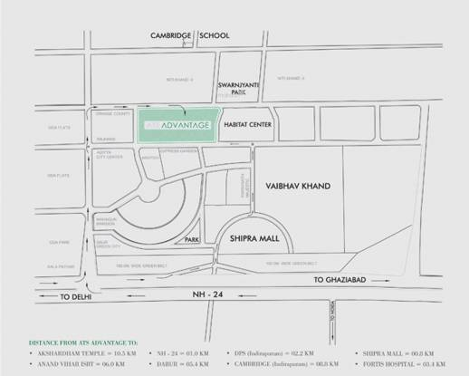 ATS Advantage Location Plan