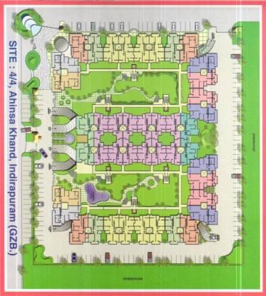 Rajhans Premier Apartment Site Plan