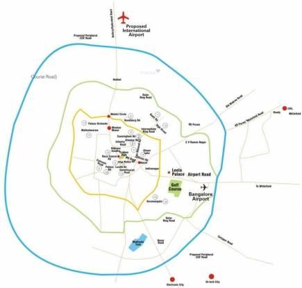 Embassy Meadows Location Plan