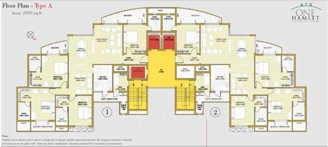 ATS One Hamlet Cluster Plan