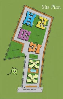 Nirala Eden Park 1 Layout Plan