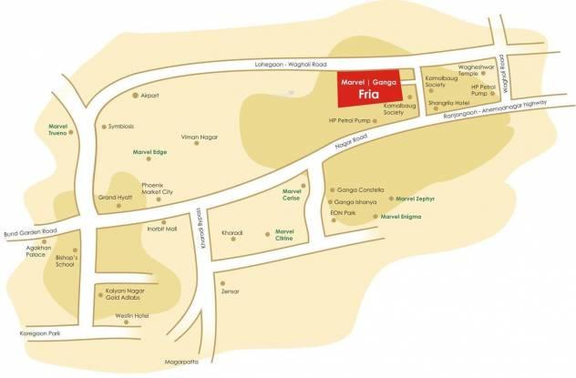 Marvel Fria Location Plan
