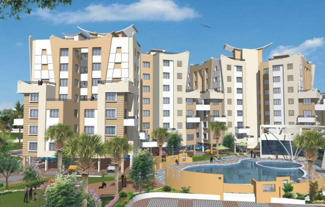 Siddhivinayak Phase I Vision City Elevation
