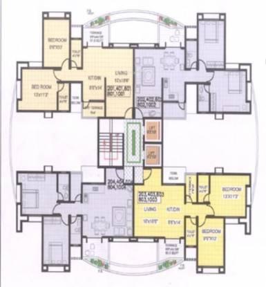KUL Shantiniketan Phase 1 Cluster Plan