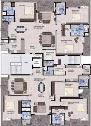 Krishvi Terrazzo Cluster Plan