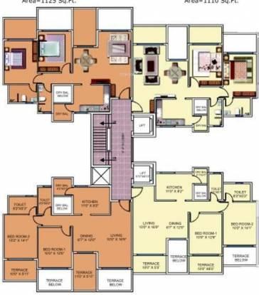 Aditya Comfort Zone Cluster Plan